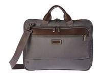 Briggs And Riley Work Slim Brief Grey Briefcase Bags Gray