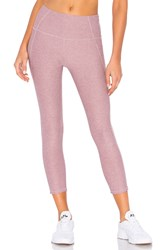 Varley Everett High Rise Tight Mauve