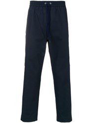 Kenzo Cargo Pocket Track Pants Blue