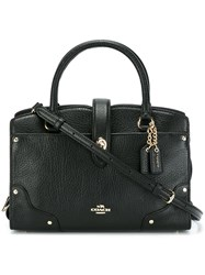 Coach 'Mercer' Tote Black