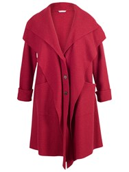 Chesca Double Collar Coat Red