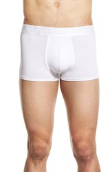 Men's Naked 'Signature' Modal And Cotton Trunks White