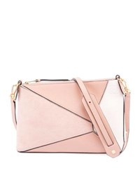 Loewe Puzzle Mini Satchel Bag Blush