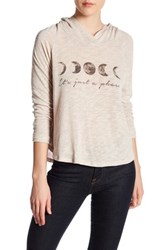 Project Social T Just A Phase Sweatshirt Beige