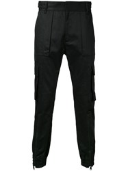 Juun.J Cargo Trousers Black
