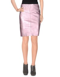 Pink Memories Skirts Knee Length Skirts Women
