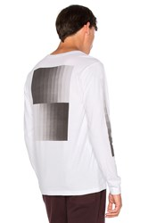 Saturdays Surf Nyc Gradient L S Tee White