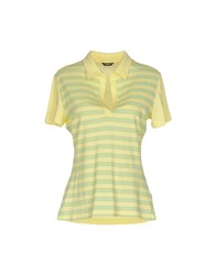 Refrigiwear Topwear Polo Shirts Yellow