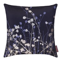 Clarissa Hulse Mystras Cushion 45X45cm Ink Gunmetal Steel Blue