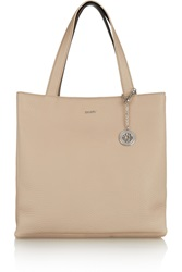 Dkny Two Tone Textured Leather Tote