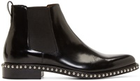 Givenchy Black Studded Chelsea Ankle Boots