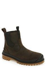 Kamik Men's Griffon Snow Boot Dark Brown Leather