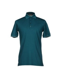Cruciani Polo Shirts Deep Jade
