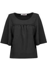 See By Chloe Crepe Top Black