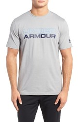 Under Armour Men's Stacked Wordmark T Shirt