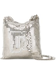 Paco Rabanne Small Chainmail Bag Metallic