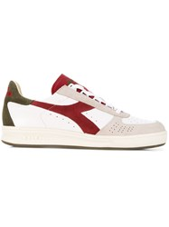 Diadora Colour Block Sneakers Red