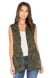 Sanctuary Courier Military Vest Olive