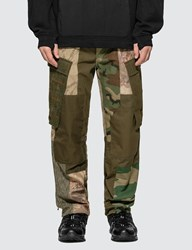 Mhi Maharishi Upcycled Patchwork Cargo Pants Multicolor