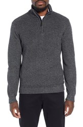 Ted Baker London Lohas Slim Fit Funnel Neck Sweater Charcoal
