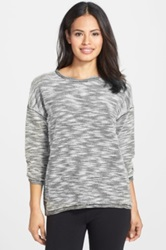 Pj Salvage Home Marled Sweater Black
