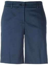 P.A.R.O.S.H. Tailored Shorts Blue