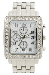 Junior Women's Bp. Crystal Bezel Watch 30Mm
