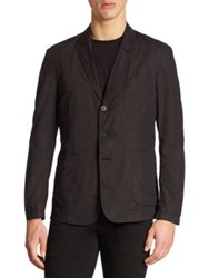 Tomas Maier Cotton Jacket Black