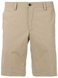 Paul Smith Ps By Chino Shorts Men Cotton 36 Nude Neutrals
