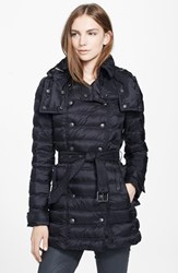 Women's Burberry Brit 'Valestead' Goose Down Coat