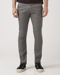 Wrangler Cropped Slim Fit Grey Larston Chino Trousers