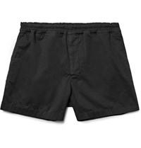 Acne Studios Andy Stretch Cotton Shorts Black