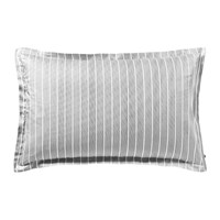 Tommy Hilfiger Sateen Stripe Pillowcase Grey 50X80cm