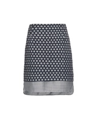 Antonio Berardi Layered Prince Of Wales Check Mini Skirt