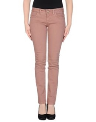 Yes London Denim Pants Skin Color