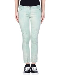 Daniele Alessandrini Trousers Casual Trousers Women Light Green