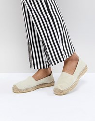 Selected Suede Espadrille Stone