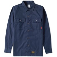 Wtaps Officer Shirt Blue