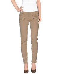 Pierre Balmain Trousers Casual Trousers Women Khaki