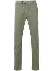 Al Duca D'aosta 1902 Straight Leg Trousers Green