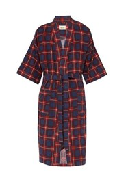 Fear Of God Checked Flannel Robe Multi