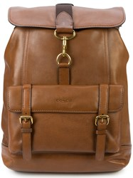 Coach Bleecker Backpack Brown