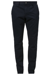 Solid Mark Chinos Blau Dark Blue