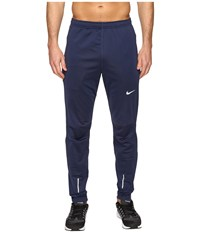 Nike Dri Fit Thermal Pants Midnight Navy Reflective Silver Men's Workout Blue