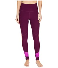 Marmot Adrenaline Tights Deep Plum Neon Berry Women's Casual Pants Purple