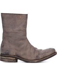 A Diciannoveventitre Side Zip Boots
