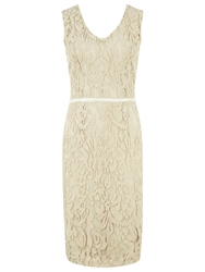 Kaliko Lace V Neck Dress Muslin