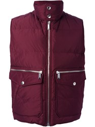 Dsquared2 Quilted Shell Gilet
