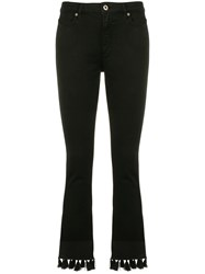 Dondup Ollie Cropped Jeans Black