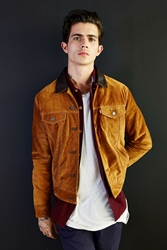 Levi's Suede Trucker Jacket Honey